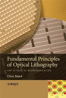 Fundamental Principles of Optical Lithography cover